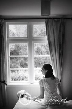 Bride getting ready in the cottage at Ohariu farm. New Zealand #wedding #photography. PaulMichaels of Wellington http://www.paulmichaels.co.nz/