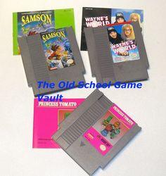 """Nintendo NES """"Rare Games"""""""