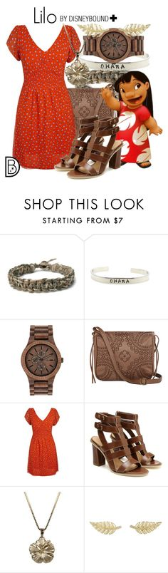 """""""Lilo +"""" by leslieakay ❤ liked on Polyvore featuring WeWood, T-shirt & Jeans, Jennifer Meyer Jewelry, women's clothing, women's fashion, women, female, woman, misses and juniors"""