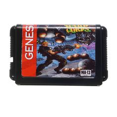 Contra Hard Corps Game Cartridge Newest 16 Bit Game Card for Sega MegaDrive Genesis NTSC