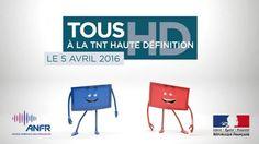 Edition Midi Picardie : Dans la nuit du 4 au 5 avril 2016 passage national de la TNT en haute définition (HD)