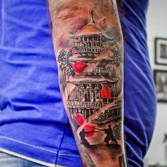 "Polubienia: 31, komentarze: 4 – Marta Bala (@marta_bala_tattoo) na Instagramie: ""Saturday work @Bala_Tattoo_Shop #tattoo #tattoooftheday #oriental #blackandgreys_finest…"""