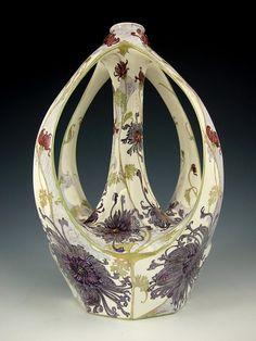 porc.EGGSHELL__1903__Rozenburg  ( Розенбургский фарфор в стиле модерн - Ярмарка Мастеров - ручная работа, handmade
