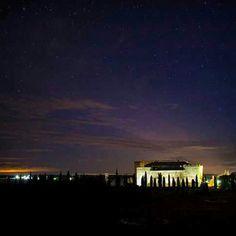 Noche estrellada en el Castillo del Buen Amor