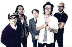 """Incubus. """"Nice to Know You"""", """"Wish You Were Here"""", """"Drive"""", """"Absolution Calling""""."""