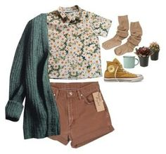 i can't feel my face when i'm with you by federics on Polyvore featuring polyvore, fashion, style, Prada, Cacharel, canvas, Wrangler and Converse