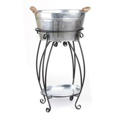 Keep the drinks within easy reach at your next outdoor gathering! #kirklands #CountryLivin