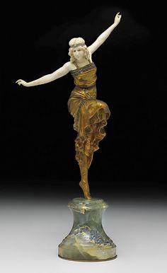 Paul Philippe (1870 - 1930) 'Russian Dancer'