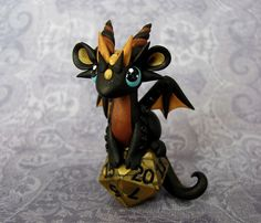 Love the dice holder Perched+Baby+Dice+Dragon+by+DragonsAndBeasties+on+Etsy,+$65.00