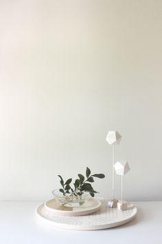 Paper Sculptures, via Etsy