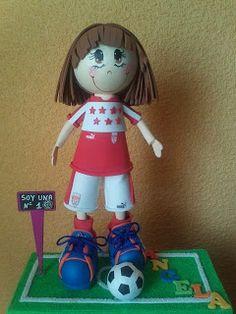 ENTRELAZADAS ROCHA FOFUCHAS: Dos campeonas de la Selección Madrileña de Futbol ...