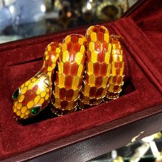 6d307a665f1 A Bulgari Serpenti watch-bracelet from Donald Gruenberg