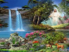 Chúa Giêsu Jesus Christ Images, Jesus Art, God Jesus, Cross Pictures, Jesus Pictures, Nature Pictures, Heaven Is Real, Angel Wallpaper, Religious Pictures