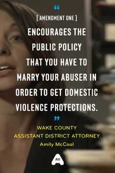 I don't know about you, but I kicked my abuser to the curb for a reason, and sought protection...I don't want to have to marry him to keep being protected...do you?
