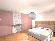 Une chambre tout en douceur …