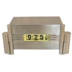 1stdibs.com   Rare Art Deco Skyscraper Clock by KEM Weber for Lawson
