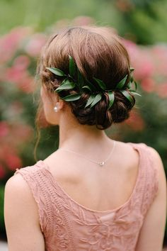 beautiful low updo hairstyles for weddings