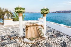 Evita and Dimitri had their Paros wedding at Agios Ioannis in a Greek Orthodox ceremony. Santorini Wedding, Greece Wedding, Paros Beaches, Wedding Programs, Wedding Ceremony, Greek Wedding Traditions, Orthodox Wedding, Villa