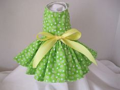 Dog Dress XXS Small green flowers Mommies by NinasCoutureCloset, $15.00 Dog Dresses, Toddler Girl Dresses, Flower Girl Dresses, Green Flowers, Couture, Trending Outfits, Wedding Dresses, Unique Jewelry, Handmade Gifts