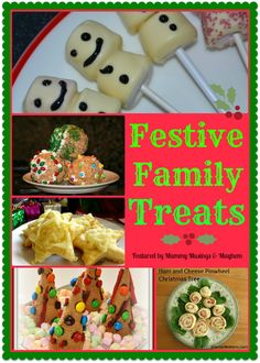 A collection of easy, family friendly festive treats from  The Weekly Kid's Co-Op ....what are you linking up this week?