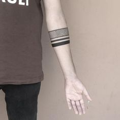 This one has a little more impact. | 19 Tattoo-Bracelets That Will Look Amazing On You