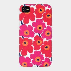 Marimekko Unikko iPhone Case