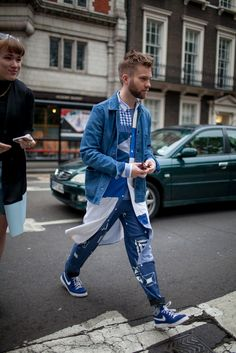 London Street Styles for Young Urban Males