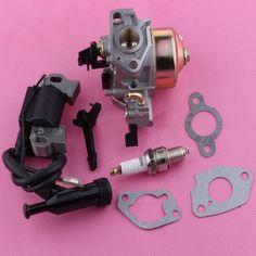 Carburetor Carb Ignition Coil Spark Plug Gasket For Honda GX240 GX270 8HP 9HP 16100-ZE2-W71 1616100-ZH9-820 Generator Engines