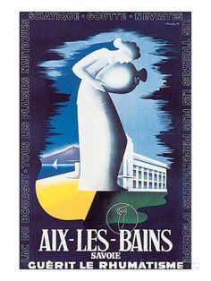 Aix-Les-Bains, Savoie Taidevedos