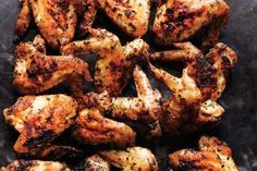 Herb Grilled Chicken Wings / Peden + Munk http://www.epicurious.com/expert-advice/grill-barbecue-chicken-wings-recipes-tips-article