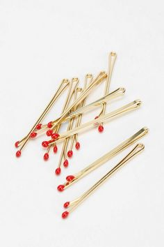 matches, match bobby pins, bobby pins, hair, hair accessories