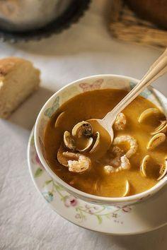 Cocina – Recetas y Consejos Seafood Soup, Good Food, Yummy Food, Food Decoration, World Recipes, Savoury Dishes, Food Photo, Food Hacks, Food Inspiration