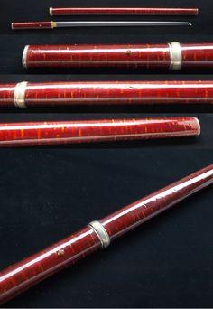 Japanese sword cane koshirae.
