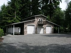 3 bay garage with apartment above plans - Google Search | House ...