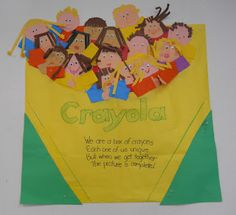crayon box that talked bulletin board - Google Search