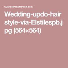 Wedding-updo-hairstyle-via-Elstilespb.jpg (564×564)