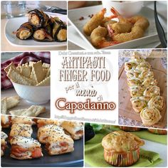 Antipasti e finger food per il menù di Capodanno