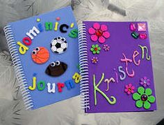 Crafts: Fun CreaHelp kids create this simple journal craft to keep track of the family vacation, camp, playing with friends and just plain downtime. A perfect summer craft. Summer Activities For Kids, Summer Kids, Crafts For Kids, Family Crafts, Kids Fun, Beach Crafts, Summer Crafts, Summer Journal, Glue Crafts