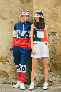 FILA Drops Throwback Collection for Spring/Summer 2016