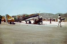https://flic.kr/p/cFcido | Dewoitine D.520 |   Vichy  French 5° escadrille Dewoitines  at Eleusis airfield, Athens  in May 1941.