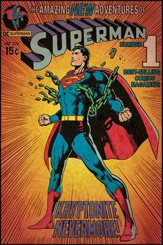 Comic Book Cover - Superman Kryptonite Peel & Stick Comic Cover (RMK1633SLG)