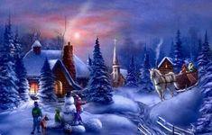 Animated Holiday Wallpaper