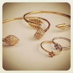 New Stella & Dot bracelets and rings! Under 40 bucks each.