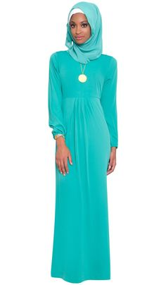flowy maxi dress with hijab - Google Search