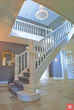 Van Bruchem Staircases - Landelijke stijl trap - Hoog ■ Exclusieve woon- en tuin inspiratie.