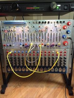 MATRIXSYNTH: Buchla 208 Music Easel & Serge TKB Sequencer Clone...