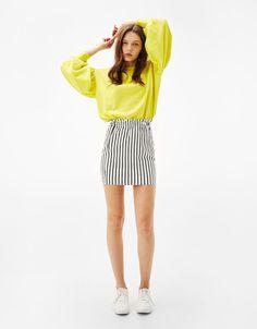 Skirts - CLOTHING - WOMAN - Bershka United States