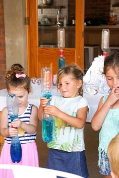 Science Birthday Party Ideas   Photo 11 of 23