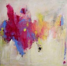 "Saatchi Art Artist Kat Crosby; Painting, ""Purple Haze"" #art"