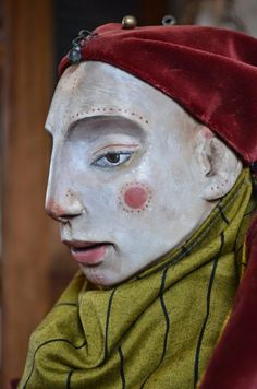 Rima Staines, The Hermitage~ Unknown Jester: the making of a puppet {with video}